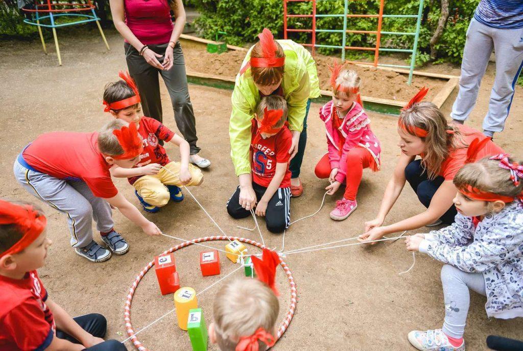 тимбилдинг для детей